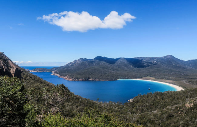Wineglass bay, Tasmanie
