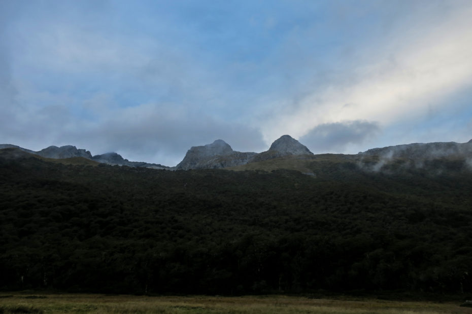 Camping, Routeburn Track