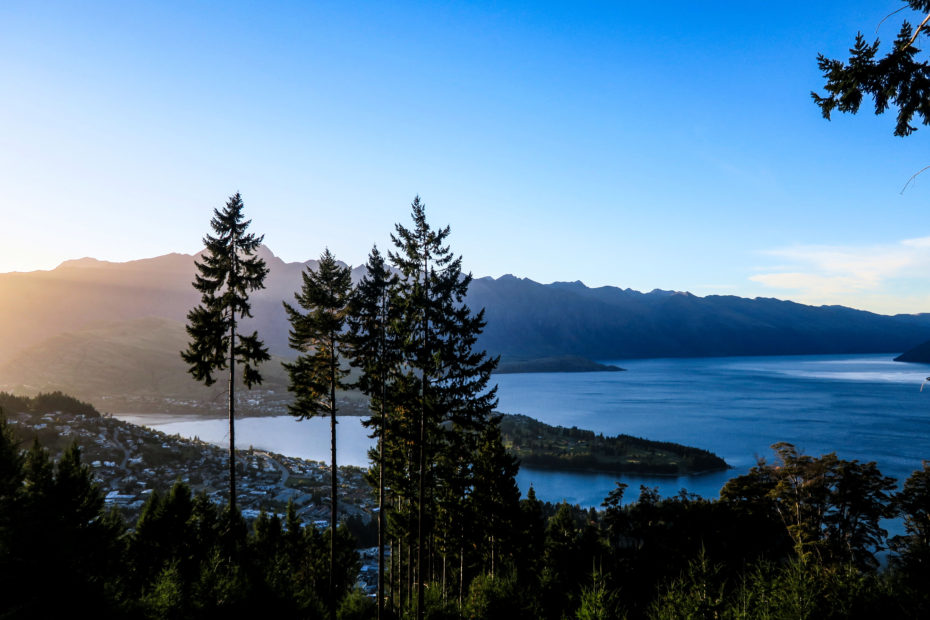 Queenstown le matin
