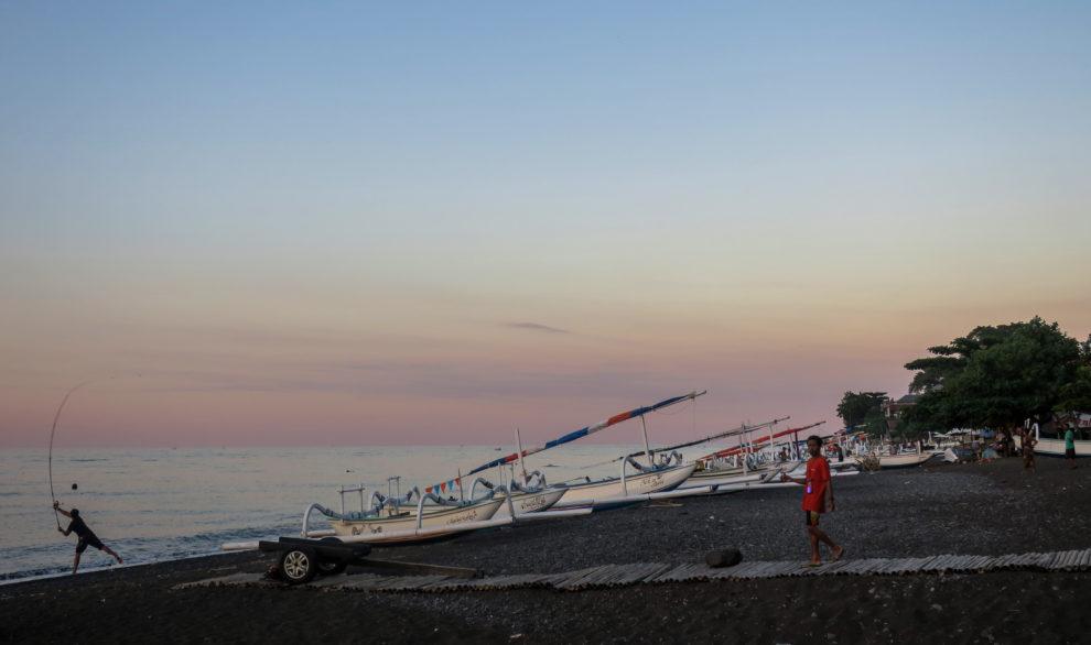 Amed et sa plage de pêcheurs