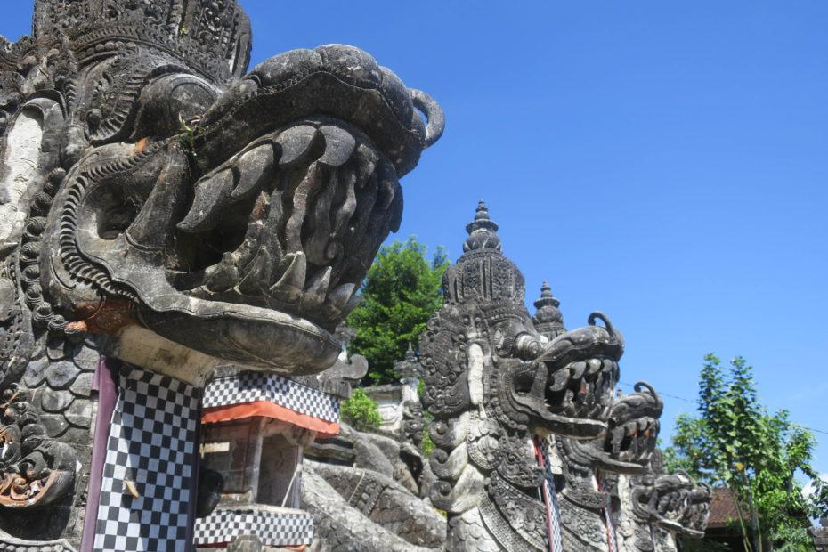 Statues Hindous, Bali