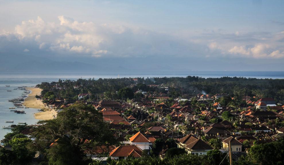 Marcher sur Nusa Lembongan