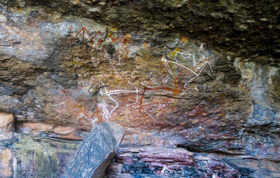 Art aborigène à Kakadu