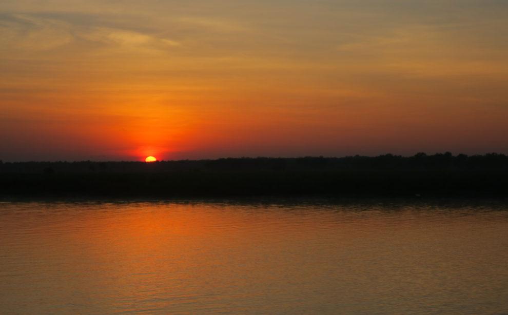 Lever de soleil rouge, Kakadu