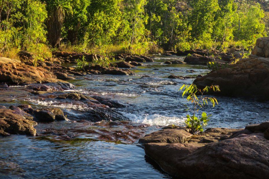 Rivière sur le Jatbula Trail