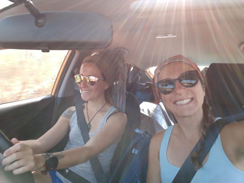 Sur la route avec Amandine