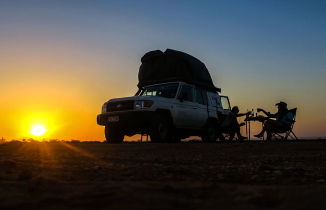 Coucher de soleil Broome à Perth