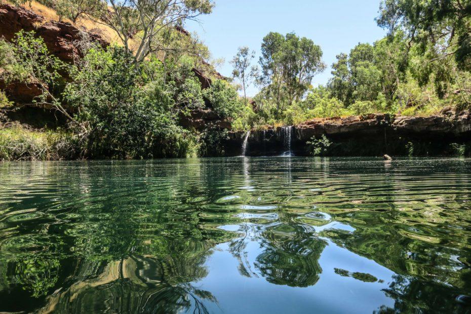 Karijini, piscines naturelles