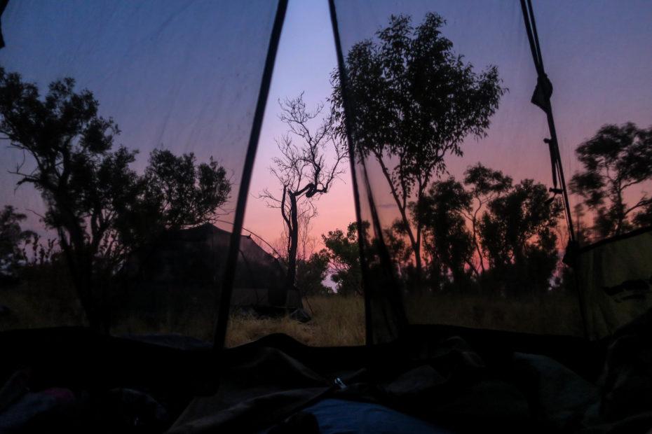 Camping dans les Kimberley