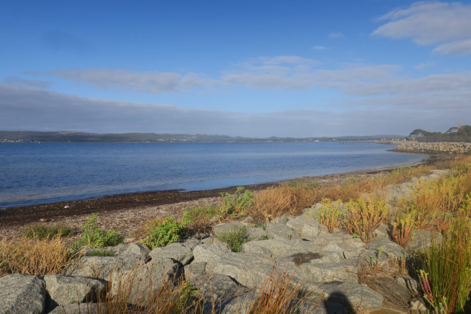 Albany, la mer